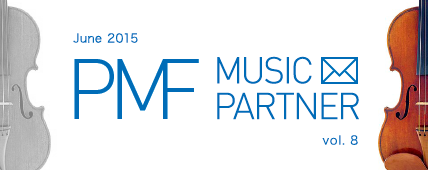 PMF MUSIC PARTNER June 2015 vol. 8